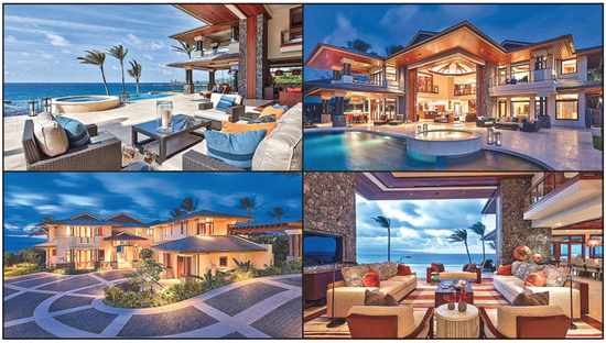 3 Kapalua Maui, Custom Luxury Beach Front home designed by Jeff Long of Longhouse Design+Build