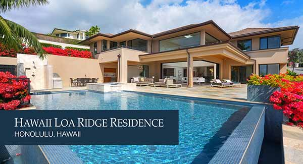 Hawaii Loa Ridge Residence Luxury Home created by Longhouse Design+Build